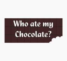 Who Ate My Chocolate iPhone Case - Galaxy Phone Cover Kids Clothes