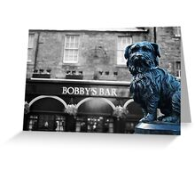 Greyfriar's Bobby - Edinburgh, Scotland, UK Greeting Card