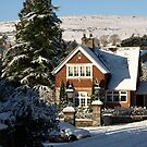 Sunny Snowy Inner Lodge - Moorhaven, South Dartmoor by moor2sea