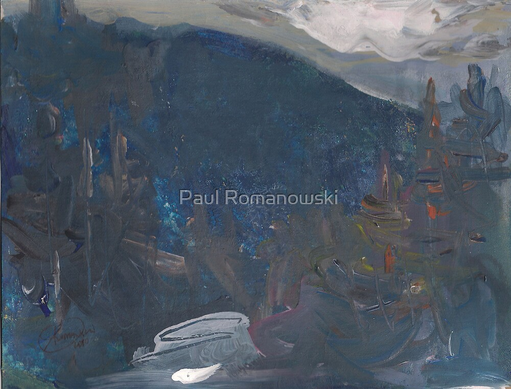 SPRING IN THE MOUNTAINS by Paul Romanowski