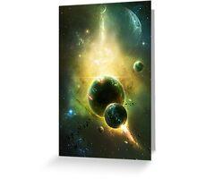 White Dwarf Explosion Greeting Card