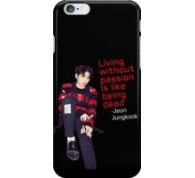 Jungkook - Without Passion iPhone Case/Skin