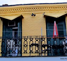 Bourbon Street Architecture by Debbie Robbins