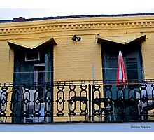 Bourbon Street Architecture Photographic Print