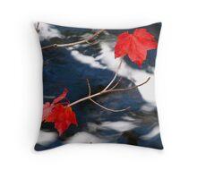 Maple Goodies Throw Pillow