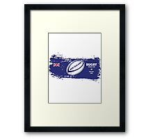 New Zealand Rugby World Cup Supporters Framed Print