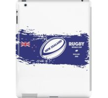 New Zealand Rugby World Cup Supporters iPad Case/Skin