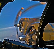 B-17 Flight over Hattiesburg, Mississippi # 7 by Turtle6