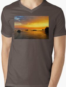 Sherbert Sky Mens V-Neck T-Shirt