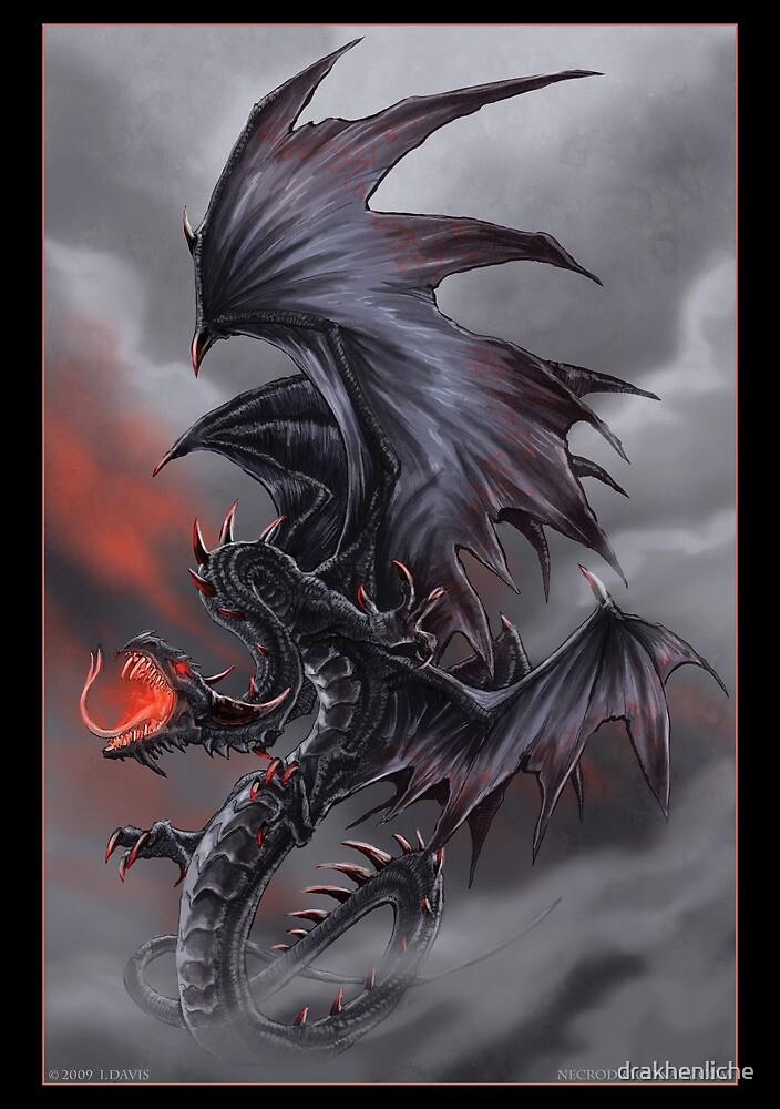 The Dragon of Despair by drakhenliche