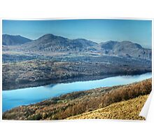 Across Coniston Water From The Other Side Poster