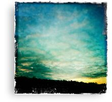 Bolton Skies - Nearly Sunset Canvas Print