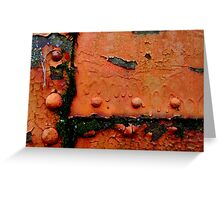 Rusty and Crusty in Mississippi Greeting Card