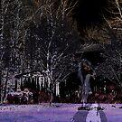 Eerie Midnight Wanderer by daphsam