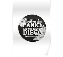 My Life Is Too Much Panic! Not Enough Disco (P!ATD) Poster