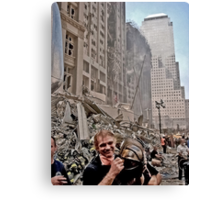 Ground Zero - 9/12/2001 Canvas Print