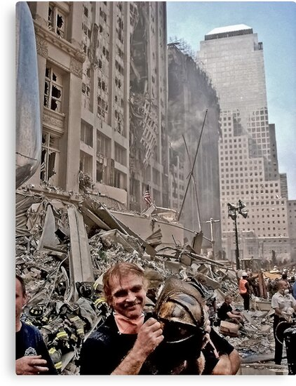 Ground Zero - 9/12/2001 by Richard Earl
