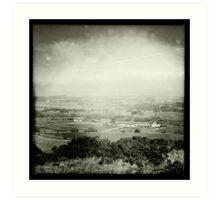 View Towards Egerton Art Print