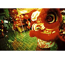 Dragon in Chinatown, London Photographic Print