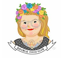 Double Chin Club Photographic Print