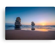 Apostles Sunset Canvas Print