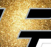 Purdue P Gold Galaxy Sticker