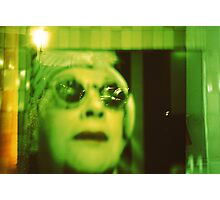 Old Woman with sunglasses Photographic Print