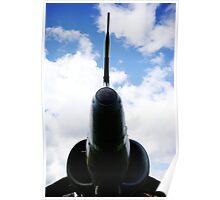 RAF Harrier fighter jet Poster