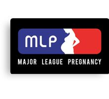 Major League Pregnancy Canvas Print