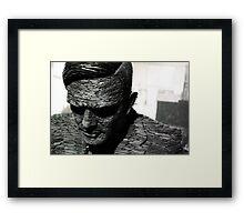 Alan Turing, Bletchley Park Framed Print