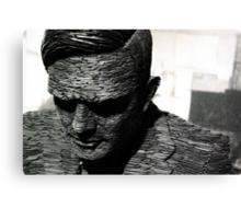 Alan Turing, Bletchley Park Canvas Print