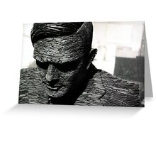 Alan Turing, Bletchley Park Greeting Card