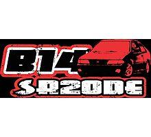 Nissan sentra SE-R B14 SR20DE Photographic Print