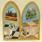 Pug Dreams by Kay Hale