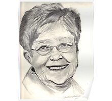 Portrait Drawing Poster