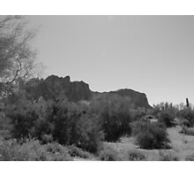 Superstition Mountain Photographic Print