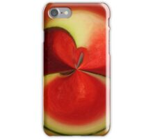 Red Watermelon iPhone Case/Skin