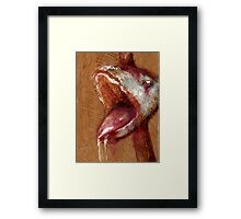 Dead Dog Snake Framed Print