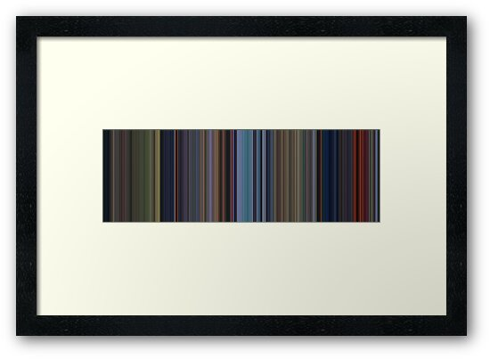 Moviebarcode: Bambi (1942) [Simplified Colors] by moviebarcode