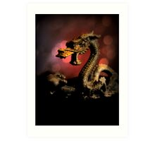 Dragon Dream Art Print