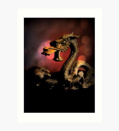 Dragon Dream Art Print