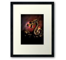Dragon Dream Framed Print
