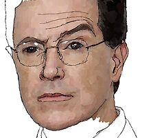 Stephen Colbert  by mahoke