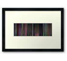 Moviebarcode: Alice in Wonderland (1951) Framed Print