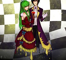 CC x Lelouch by TEAMJUSTICEink