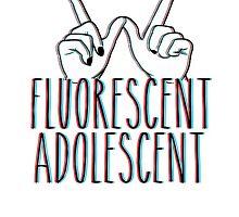 Fluorescent Adolescent - (ARTIC MONKEYS) by Merchpug