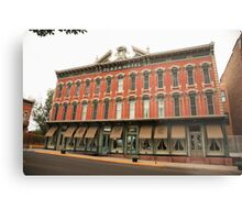 Las Vegas, New Mexico - Plaza Hotel Metal Print