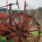Antique Tractor - Rusted and Weathered by Betty Northcutt
