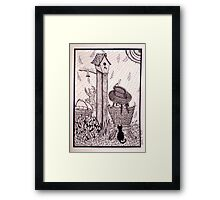 Country Girl: Patience Framed Print