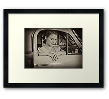 Leeloo Loren Framed Print